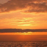 Пылающий закат :: Евгений Антоненко