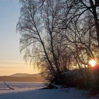 Вечерняя подсветка Уральских гор :: Стил Франс
