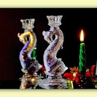 Свеча горела на столе... :: Леонид Козырев
