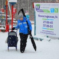 после лыжной гонки :: Оксана Грищенко