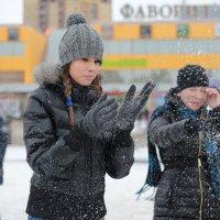 Игра в снежки :: Анна Павлова