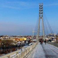 пешеходный мост г.Тюмень :: Олег Петрушов