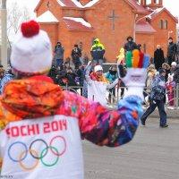 Эстафета Олимпийского огня :: Максим Воробьев