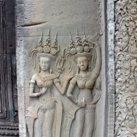 Камбоджа. Ангкор-Ват. Апсары - небесные девы :: Владимир Шибинский