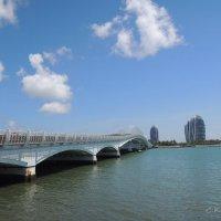 Мост на остров Феникс :: Сергей Карцев