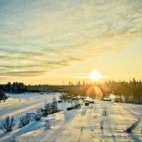Холодное солнце Сибири :: Дмитрий Тагиев