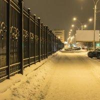 вечерний тротуар :: Константин Кирюшкин