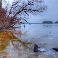 Днепр в Январе :: Denis Aksenov