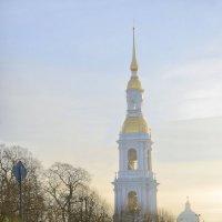 Никольский собор утром :: ник. петрович земцов