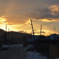 Утро.Восход. :: Полина Яблонцева