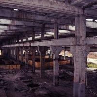 Заброшенный завод :: Алексей Лебедев