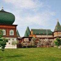 Дворец царя Алексея Михайловича в Коломенском. :: Ирина )