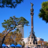 памятник Колумбу в Барселоне :: Alex