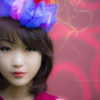Портрет, кукольная тема :: Анастасия Рурак