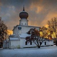На закате... :: Виктор Грузнов