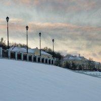 Морозный вечер :: Олег Козлов