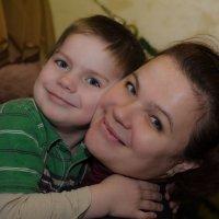 Мама и сын :: Kate Bahdanovich