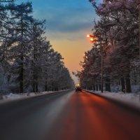 Зимняя дорога :: evgeny ryazanov