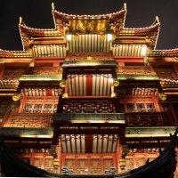 Китай. Ночной Шанхай. Старый Город. :: Виктория