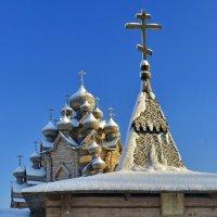 Всех со Святым Праздником Крещения. 19 января Покровская  церьковь. :: Виталий Половинко