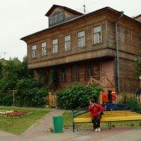Архангельск деревянный. :: Елена Перевозникова