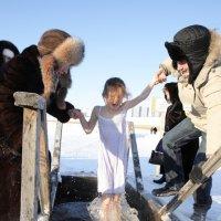 2009 г. Крещение на р. Обь :: Владимир Шкваря