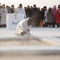 2011 г.Крещение на р. Обь :: Владимир Шкваря