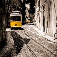 Трамвайный Лиссабон :: Лана Григорьева