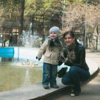 Прогулка по зоопарку :: Elena Nikitina