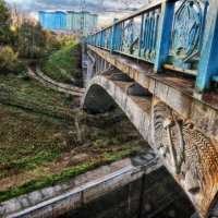 Железнодорожный мост :: Александр Полесский