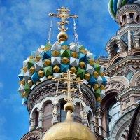 Купола храма Спаса-на-Крови :: Марина Витушкина