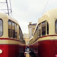 Первые трамваи :: Аня Разумовская