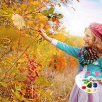 А я рисую осень :: Николай Шлыков