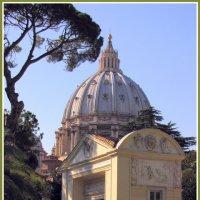 В саду Ватикана :: Евгений Печенин