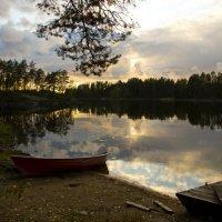 Краски осени и заката :: Olga Anokhina