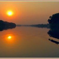 Замбези встречает рассвет :: Евгений Печенин
