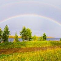 Радуга над Енисеем :: Дмитрий Догадин