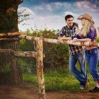 Love story в стиле кантри :: fg-studio ФотоГрафика