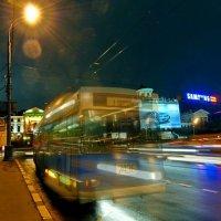 Последний тролейбус :: Борис Соловьев