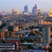 Западные виды Москвы :: Александр Полесский