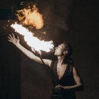 Лицо огня :: Sergey Leonidchenko