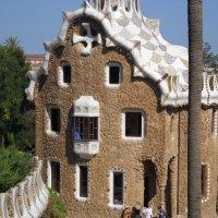 Пряничный дом в парке Гуэль Антонио Гауди :: Светлана Игнатьева