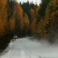 по дороге в Приозерск :: Оксана Орлова