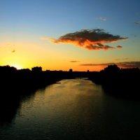 Закат в Орле :: Ирина Семенова