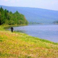 Одинокий рыбак :: Павел Кузьмин
