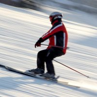 лыжи :: Александр Бритшев