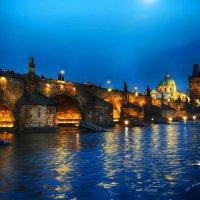 Вид на Карлов мост. Прага :: Jozhеg Tumanov ( Serg F) Serg F