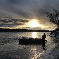 Река встает :: Евгений Усатов