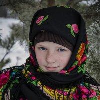 Сельчанка Алёнушка :: Татьяна Титова
