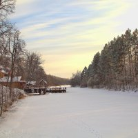 Зимняя река :: Владимир